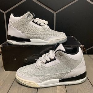 Youth Air Jordan 3 White Flip GS Shoe Size 5.5Y